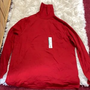 Tops - Brand new red turtle neck women's